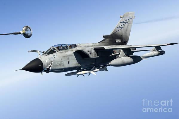 50 Stormo Art Print featuring the photograph An Italian Air Force Tornado Ids by Gert Kromhout