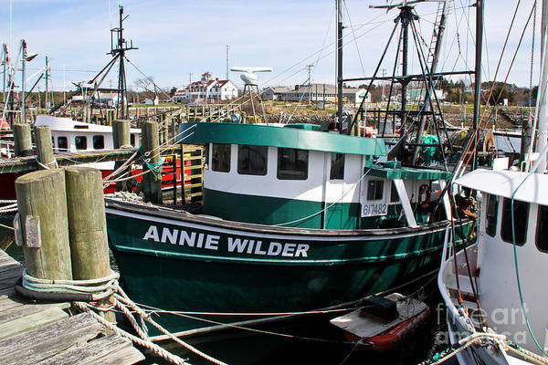 Cape Cod Canal Art Print featuring the photograph Annie Wilder by Extrospection Art