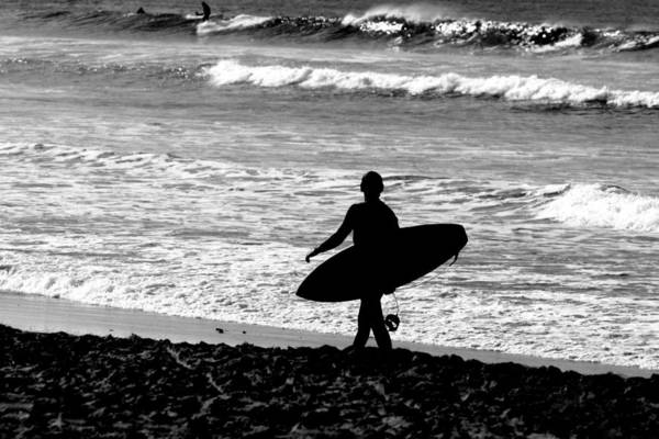 Surf Art Print featuring the photograph Anticipation by Steve Parr