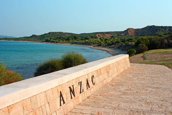 Anzac Art Print featuring the photograph Anzac by Angela Siener