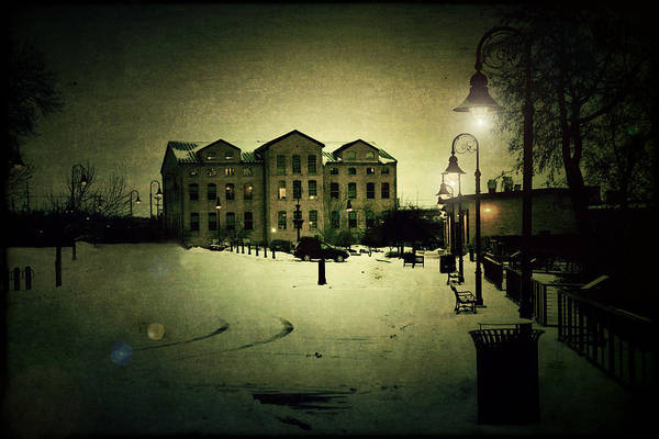 Appleton Art Print featuring the photograph Appleton Waterfront by Joel Witmeyer