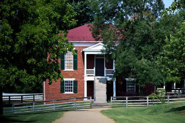 Appomattox Art Print featuring the photograph Appomattox County Court House 1 by Teresa Mucha