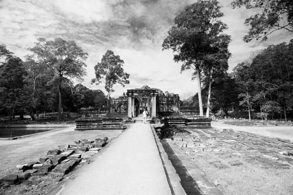 Ariksm-at Art Print featuring the photograph Art Of Temple by Arik S Mintorogo