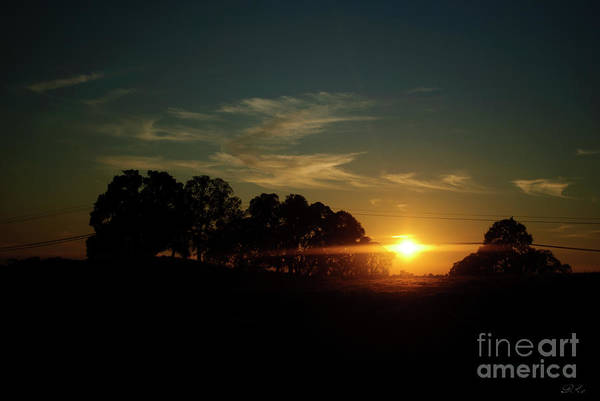 Sunset Art Print featuring the photograph At Day's End by Diego Re