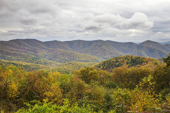 Shenandoah Art Print featuring the photograph Autumn In Shenandoah National Park by Pierre Leclerc Photography