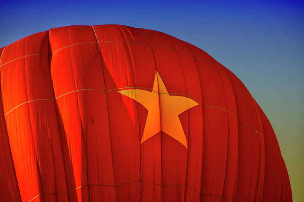 Hot Air Balloon Art Print featuring the digital art Back In The Ussr by Gary Baird