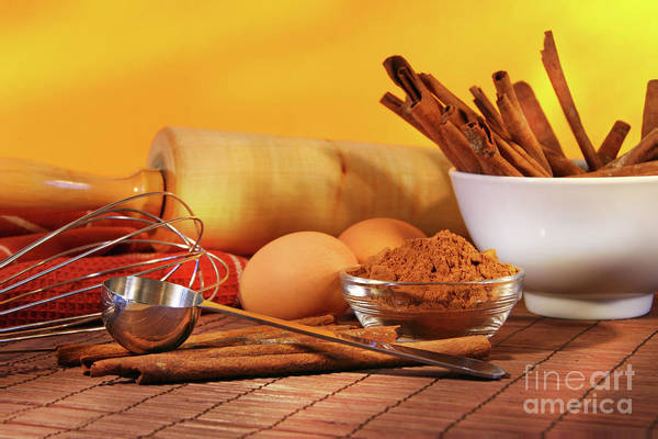 Baking Art Print featuring the photograph Baking Ingredients by Sandra Cunningham