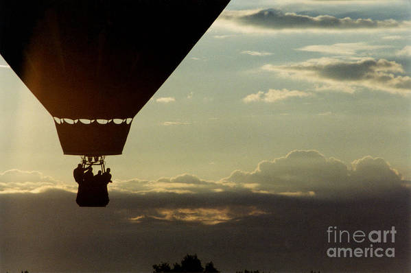 Sky Art Print featuring the photograph Balloon Adventure by Tom Luca