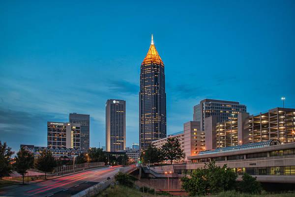 Atlanta Art Print featuring the photograph Bank Of America Plaza Atlanta by Brian Young