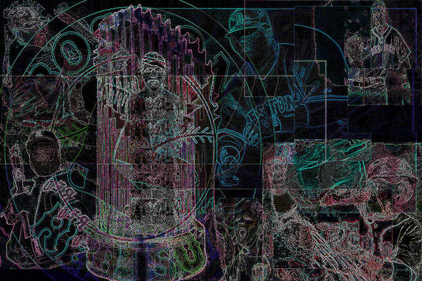Digital Art Art Print featuring the digital art Bean Town V3 by Jimi Bush