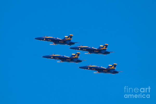 Blue Angels Art Print featuring the photograph Blue Angels 25 by Mark Dodd