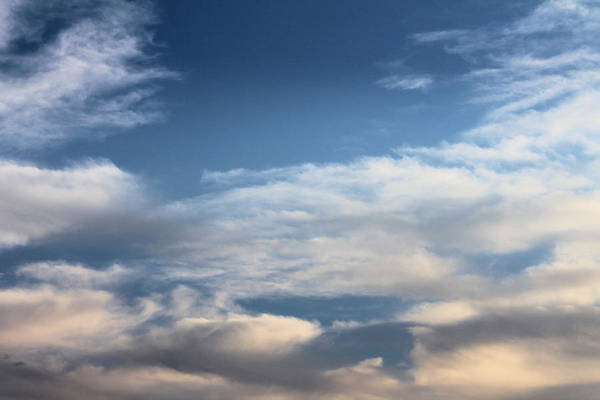 Clouds Art Print featuring the photograph Blue Skies by Kathleen Nash
