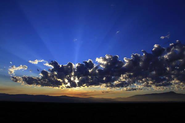 Sky Art Print featuring the photograph Blue Sunrise by William Joseph