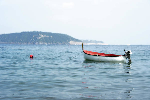 Boat Art Print featuring the photograph Boat In The Water by La Dolce Vita