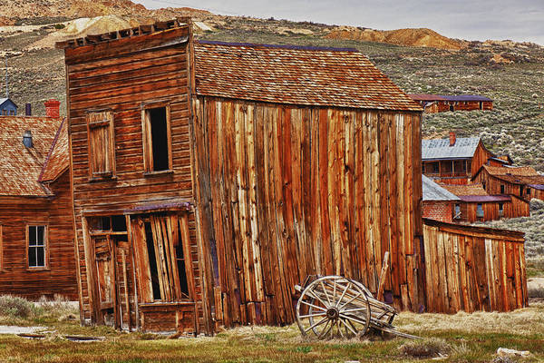 Bodie Art Print featuring the photograph Bodie Ghost Town by Garry Gay