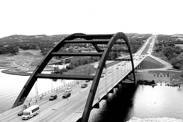 Bridge Art Print featuring the photograph Bridge With A View by Jenna Monroe