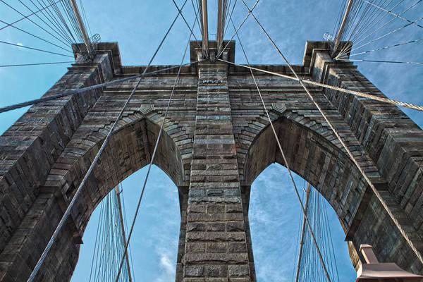 Brooklyn Bridge Art Print featuring the photograph Brooklyn Bridge by Michael Yeager