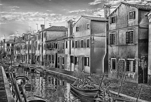 Art Art Print featuring the pyrography Burano 3 by Mauro Celotti
