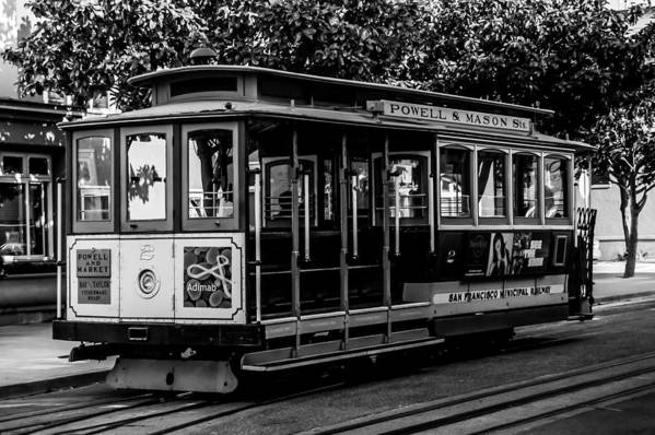 Cable Car Art Print featuring the photograph Cable Car by Christofer Johnson
