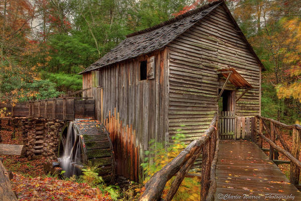 2010 Art Print featuring the photograph Cable Mill by Charles Warren