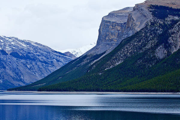 Canadian Rockies Art Print featuring the photograph Canadian Lake 1726 by Larry Roberson