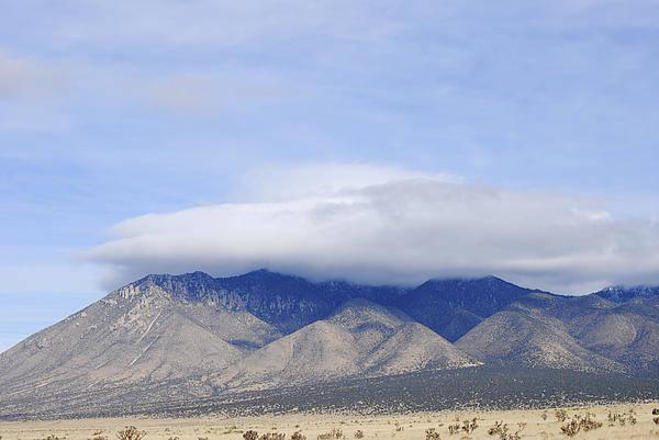 Carrizo Mountain Art Print featuring the photograph Carrizo Peak Lenticular by Jon Rossiter