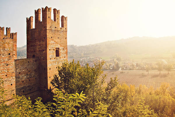 Horizontal Art Print featuring the photograph Castell'arquato by Just a click