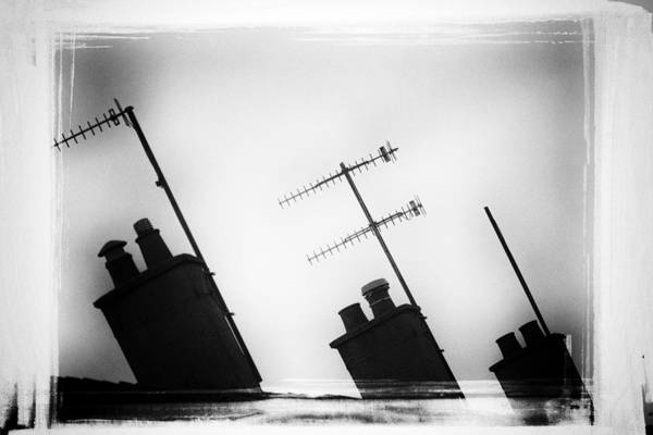 Chimneys Art Print featuring the photograph Chimneys by David Ridley