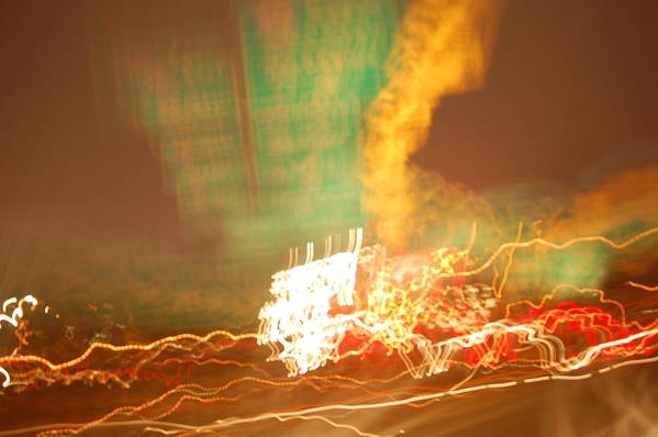City Nights Art Print featuring the photograph City Nights 2 by Martin Hovsepian