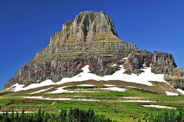 Clements Mountain Art Print featuring the photograph Clements Mountain by Greg Norrell