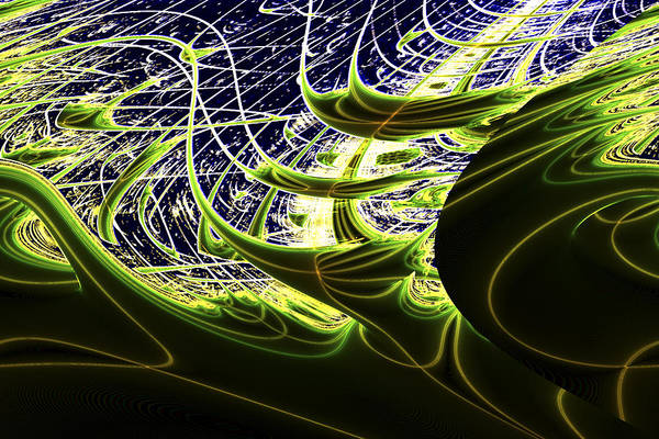 Space Art Print featuring the digital art Climatic Space by Twilight Vision