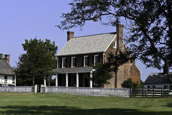 Appomattox Art Print featuring the photograph Clover Hill Tavern Appomattox Virginia by Teresa Mucha