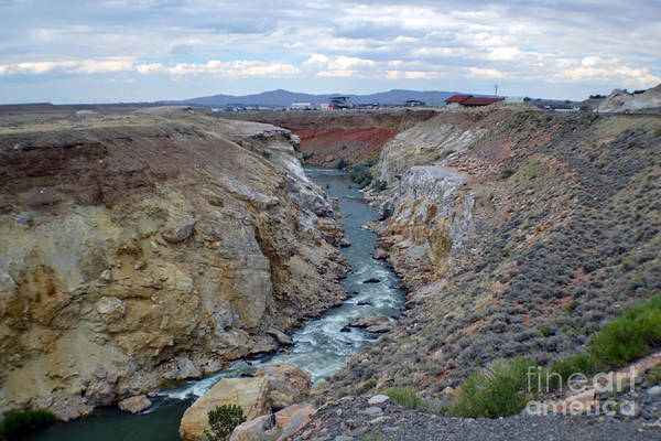 Landscape Art Print featuring the photograph Cody Wyoming River by Roxann Whited