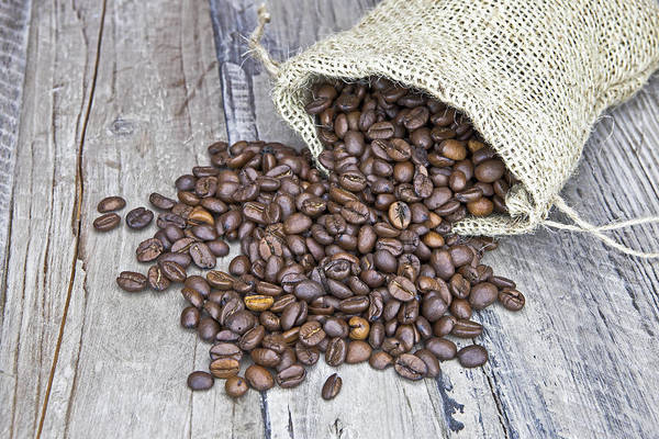 Coffee Print featuring the photograph Coffee Beans by Joana Kruse