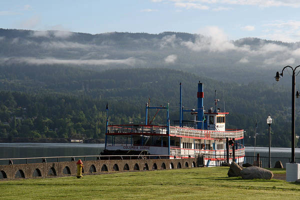 Oregon Art Print featuring the photograph Columbia River Gorge Sternwheeler by Elizabeth Rose