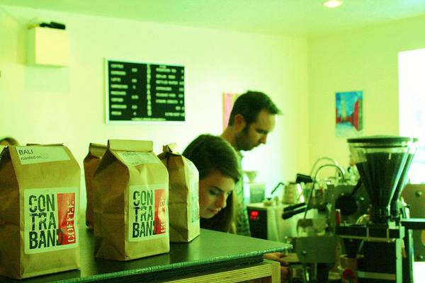 Contraband Art Print featuring the photograph Contraband Coffee by Marcel Van Gemert