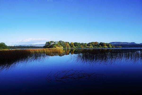 Beauty In Nature Print featuring the photograph Cottage Island, Lough Gill, Co Sligo by The Irish Image Collection