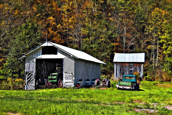 West Virginia Art Print featuring the photograph Country Life by Steve Harrington
