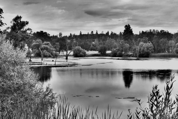 Landscape Art Print featuring the photograph D'agostini Lake by Mike Duerr