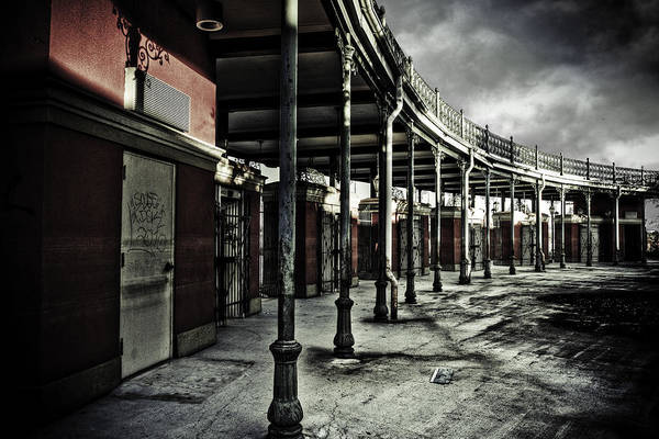 Entrance Art Print featuring the photograph Dark Entrance by Pixel Perfect by Michael Moore