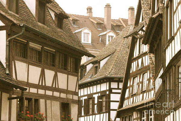 Germany Art Print featuring the photograph Days Of Old by Bev Veals