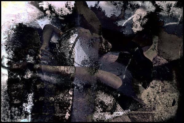 Swimmer Art Print featuring the photograph Dead Sea Blues by Adam Kissel