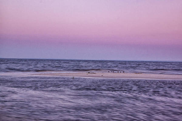 Delaware Bay Art Print featuring the photograph Delaware Bay Dawn by Tom Singleton