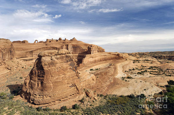 Viewpoint Art Print featuring the photograph Delicate Arch Viewpoint - D004091 by Daniel Dempster