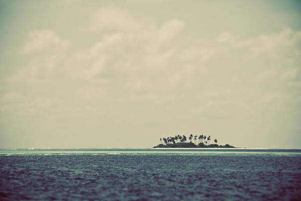 Maldives Art Print featuring the photograph Deserted Island by Darren Martin