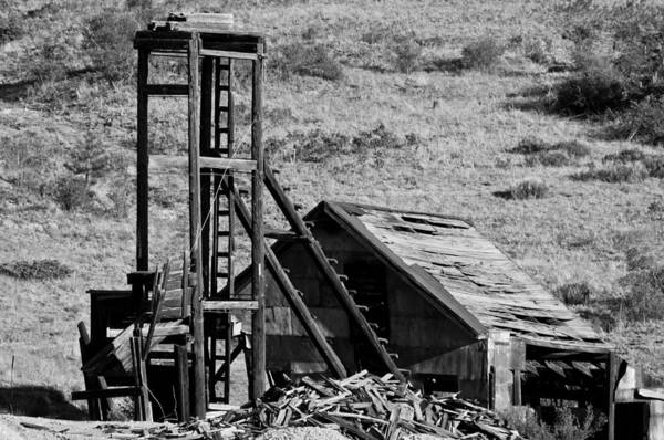 Mine Art Print featuring the photograph Deserted Mine by Colleen Coccia