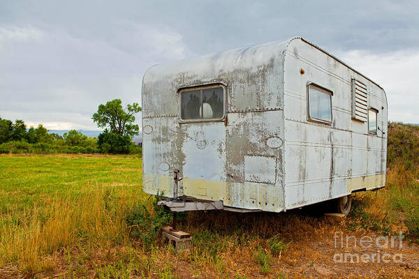 Old Camper Art Print featuring the photograph Dixie Queen by Barbara Schultheis