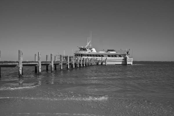 Boat Art Print featuring the photograph Docking For A Moment by Betsy Knapp