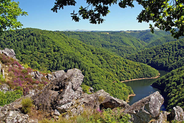 French Art Print featuring the photograph Dordogne Valley by Rod Jones