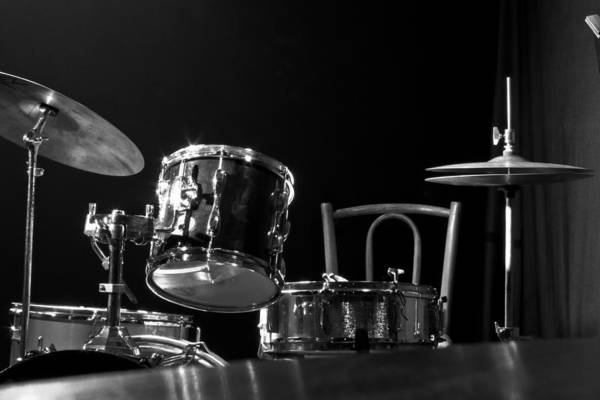 Jazz Art Print featuring the photograph Drummer Set by Eduardo Serra